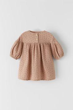Kids Dress Wear, Little Girl Dresses, Girls Dresses, Romper Dress, Dot Dress, Baby Dress, Inspiration Mode, Baby Kids Clothes, Girls Rompers