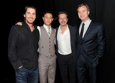 Christian Bale , Joseph Gordon-Levitt , Gary Oldman , Christopher Nolan