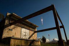 NASA photographer Bill Ingalls captured this amazing shot of the Orbital Sciences' Antares rocket launch at the NASA Wallops Flight Facility in Virginia, April 21, 2013.