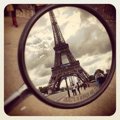 Paris on a Vespa