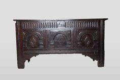 James 1st oak chest, Marhamchurch antiques