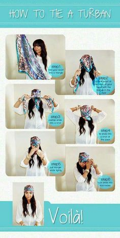 How to tie a turban                                                       …
