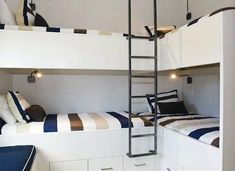 Nautical Kids Bunk Beds