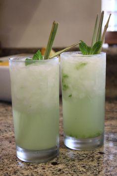 Cucumber Vodka Mint Cocktail