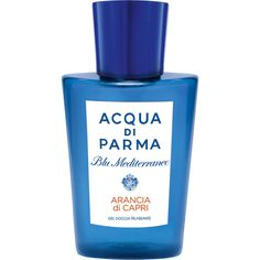 Acqua di Parma Women's Blu Med Arancia Shower Gel 200mL (780 ARS) ❤ liked on Polyvore featuring beauty products, bath & body products and body cleansers