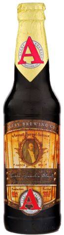 """Avery Brewing Co.: Uncle Jacob's Stout Bourbon Barrel Stout (15.86% ABV) Wow! That's about all I can say. Wow! Boozy, and delicious. Wifey even got in on this one. She was like """"Holy Crap! That's good!"""" This is a special release beer, so if you can still find it, it's worth the price tag. Prost! ✌️❤️"""