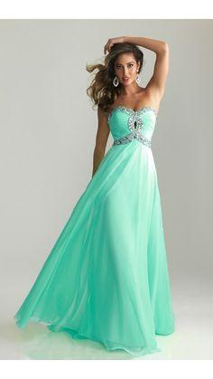 Night Moves 6642 Sequins Aqua Prom Dress 2014... so pretty love the color...
