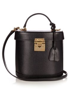 Mark Cross Benchley saffiano-leather shoulder bag