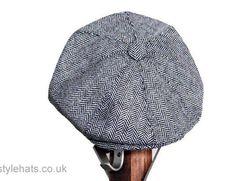 Eight Panel News boy Baker boy Hat Herringbone Style Hats n Caps Men s