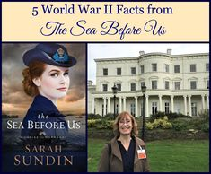 5 World War II Facts from The Sea Before Us by Sarah Sundin. On Fresh Fiction. Book giveaway Feb. 2-6, 2018.