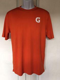 0c6ca025 Gatorade Mens T Shirt Orange Scoop Neckline Short Sleeves Size S | eBay.  Ruffle Blouse