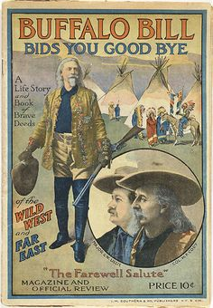 Buffalo Bill Program from his Farewell Tour.