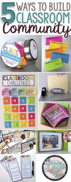 By intentionally taking time to build a positive community in your classroom, you can ease the challenges of classroom management, improve student attitude toward learning, and create an environment where students feel welcomed and supported. Check out Pr 5th Grade Classroom, Classroom Behavior, Classroom Environment, Future Classroom, School Classroom, Classroom Activities, Classroom Organization, Classroom Management, Behavior Management