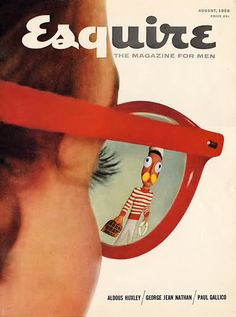 Vintage Esquire Magazine Cover  Brenda Della Casa is the Managing Editor of I Am Staggered USA, LLC, The Director of Online Content for Preston Bailey and the Author of Cinderella Was a Liar and Walking Barefoot www.strollwithoutshoes.com  @BrendaDellaCasa