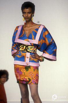 Emanuel Ungaro, Spring-Summer 1991, Couture | Emanuel Ungaro - Europeana