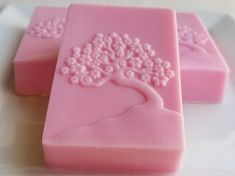 NEW! Japanese Cherry Blossom Soap - Tree of Life Soap - Pink Soap - Bonsai Tree Soap - Novelty Japanese Gift Soap - Christmas Stocking Stuffer
