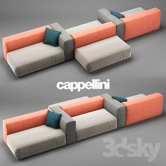 Cappellini Oblong Sofa