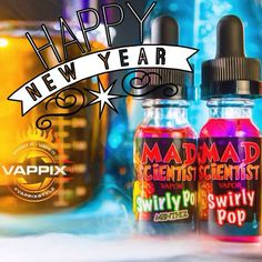 We'd like to thank our valued customers for an amazing 2014 and wish all of you a Happy New Year!  #vape #happynewyear #vapecommunity #swirlypop #vapor #supportlocal #madscientistvapor #quitsmoking #justvape #bestcustomers #youmad? #Padgram