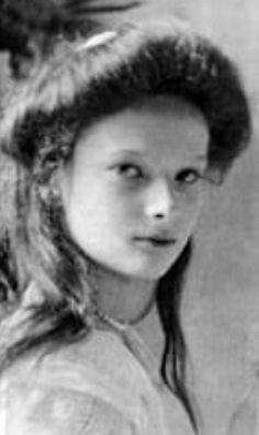 Grand duchess Tatiana Nikolaevna Romanov, 1910.