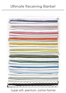 No such thing as too many. SwaddleDesigns Ultimate Receiving Blankets #MadeinUSA  #Seattle #UScotton