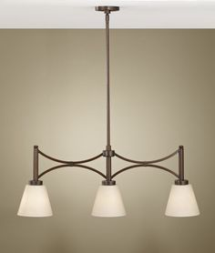 Nolan 3 Light Billiard Chandelier