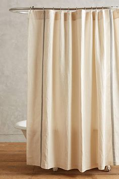 Waffled Shower Curtain - anthropologie.com