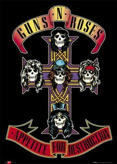 Guns'n Roses - Appetite For Destruction
