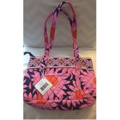 NEW!! Vera Bradley Little Betsey Tote in Loves Me Brand new with tags Vera Bradley Little Betsey handbag in Loves Me pattern. Divided sections inside bag with a total of six interior pockets. Feel free to make an offer if interested!    ***no trades**** Vera Bradley Bags Totes