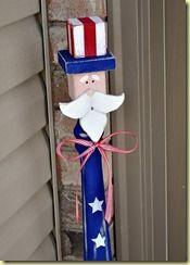 Uncle Sam spindle