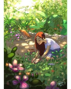 Yaoyao Ma Van As, cane, Yaoyao Ma Van As illustrazioni, Yaoyao Ma Van As illustration, Yaoyao Ma Van As living with a dog Art Anime Fille, Anime Art Girl, Art And Illustration, Art Amour, Alone Art, Art Mignon, Joy Of Living, Inspiration Art, Aesthetic Art