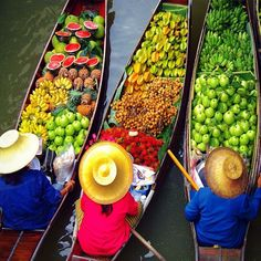 https://flic.kr/p/of1PdA | Floating Market / Thailand by olayseven | by olayseven ift.tt/1rZ7IIZ