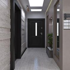 19 Ideas January Door Decorations For Home House Coridor Design, Flur Design, House Design, Design Ideas, Interior Door Colors, French Doors Bedroom, Foyer Flooring, Halls, Bedroom False Ceiling Design