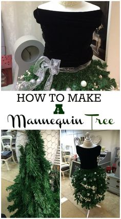 HOW TO MAKE A MANNEQUIN TREE by Alicia Essex