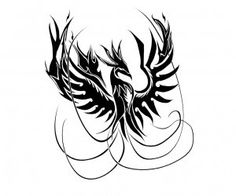 Phoenix of fire tattoo wallpaper