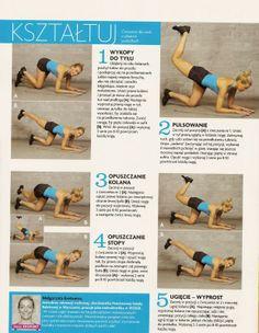 ** Workout Body Attack. Siłownia. Fitness. Zdrowy Lifestyle. **: Ćwiczenia na pośladki.