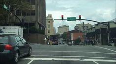 Driving Downtown - Asheville North Carolina USA