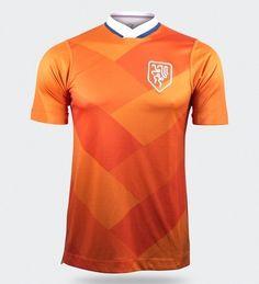 d17ad4e2cb Artistas criam novos escudos e camisas para seleções de futebol - Show de  Camisas Esporte Clube