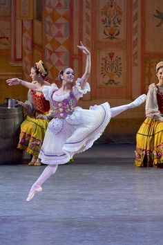 From the ballet Coppelia