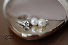 Bride details before her wedding! #weddingring, #weddingearrings, #weddingdetails photo by Tad Craig Photography