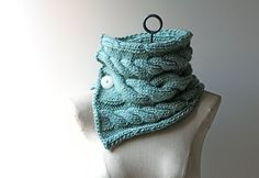 Made to Order Robin's Egg Blue Hand Knitted Women's by AmyLaRoux, $45.00