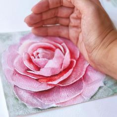 I like watching how rose born from the paper. It is like a magic every time Watercolor Rose, Watercolor Print, Botanical Art, Botanical Illustration, Rose Art, Flower Art, Giclee Print, Etsy Seller, Magic