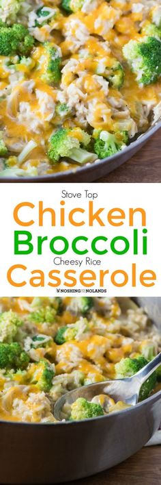 Stove Top Chicken Broccoli Cheesy Rice Casserole by Noshing With The Nolands is an easy meal solution that requires very little cleanup. Using already prepared shredded chicken is a real time saver! #MapleLeafFoods #Appehtite #MadeLikeHomemade #ad