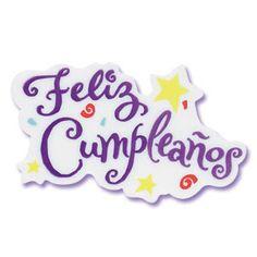 Pegatina Feliz Cumpleaños