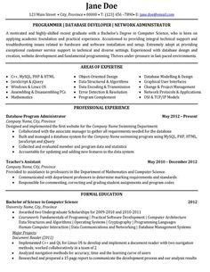 Top Resume Examples Listed By Style Chronological Resume