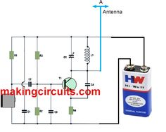 A very basic and small FM transmitter circuit has been discussed in this article, using a single transistor transmitter circuit, which is small yet is able
