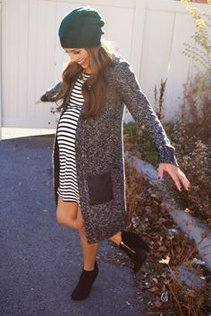 Put together a stylish maternity look for less than $30 at MotherhoodCloset.com Maternity Consignment!!