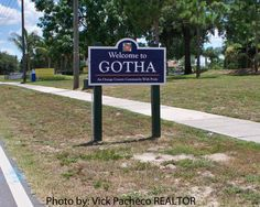 Gotha, Florida, USA - It is part of the Orlando–Kissimmee Metropolitan Statistical Area. Florida Usa, Sunshine State, Orange County, Orlando, Places Ive Been, Community, Outdoor Decor, Gotha, Orlando Florida