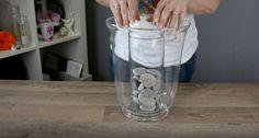 Ze stopt een kaars in een grote vaas en giet er water bij.... Dit wil ik ook in huis hebben! - Zelfmaak ideetjes