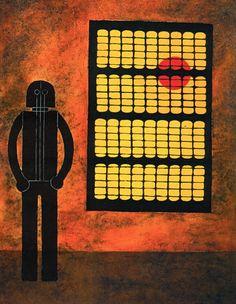 Rufino Tamayo - Hombre En La Ventana