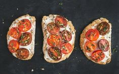 Cooking Light - Herbed Ricotta & Tomato Toast